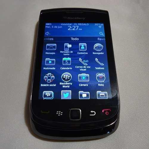 Blackberry torch 9800 flex y carcasa nueva liberado