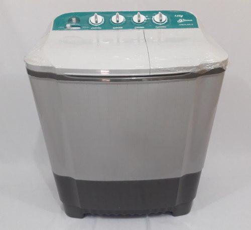 Lavadora semiautomatica doble tina 7 kg g deluxe (tienda)