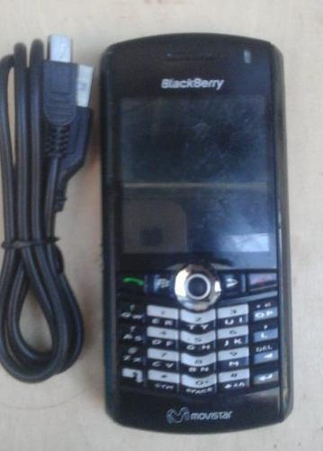 TELEFONO CELULAR BLACK BERRY PEARL 8100 CON SU CABLE USB, usado segunda mano  Libertador-Aragua (Aragua)