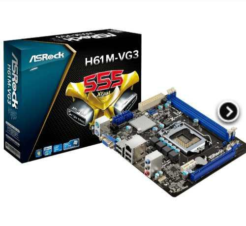 Combo procesador intel g2030 tarjeta madre asrock ram2gb
