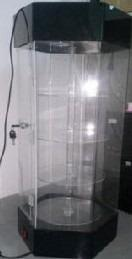 Exhibidor giratorio de acrilico