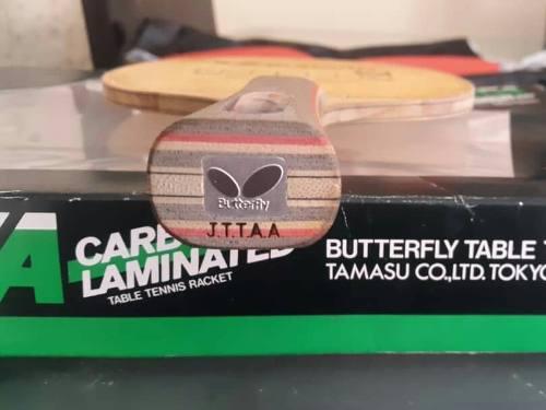 Butterfly primorac carbón mango tenis de mesa de ataque