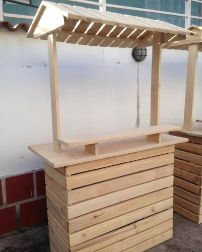 Carreta bar kiosco candybar madera, bodas, bazar, exhibidor