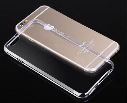 Forro estuche gel transparente slim iphone 6 plus / 6s plus