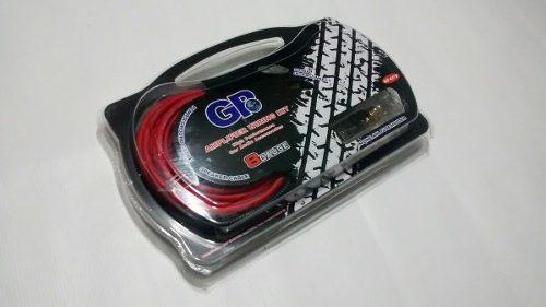 Kit de instalacion gp cable 8 para sonido / gama alta / 1rca