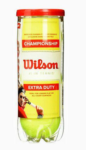 Pelotas de tenis wilson championship extra duty