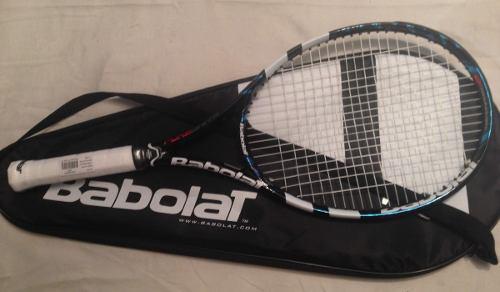 Raqueta de tenis babolat pure drive gt (nueva con encordado)