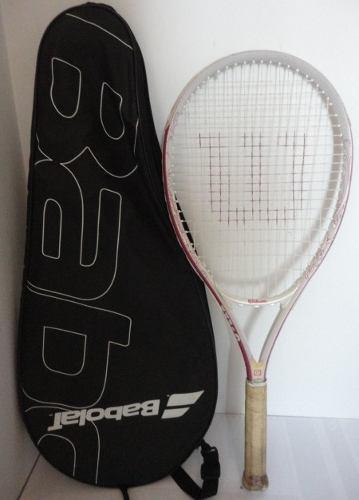 Raqueta tenis wilson y bolso estuche p15 jcd