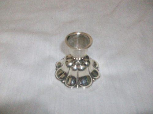 Candelabro baño plata adorno hogar liquidación total usado