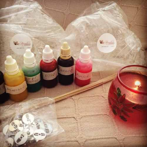 Gel de parafina. materiales para velas