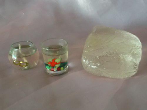 Parafina en gel para velas decorativas