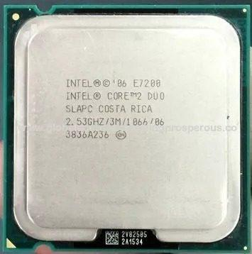 Procesador intel® core2 duo e7200