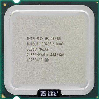 Procesador intel quad core q9400 2.6ghz 775 riser btc