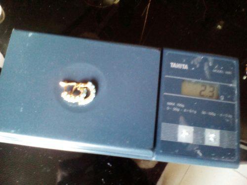 Zarcillos de oro 18 k con turquesas