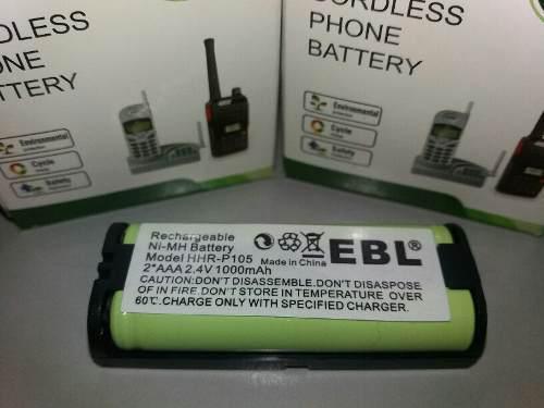 Pila bateria / telefono inalambrico hhr-p105 marca ebl
