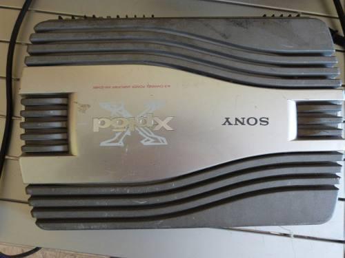 Sony xplod amplificador 4 canales con procesador interno