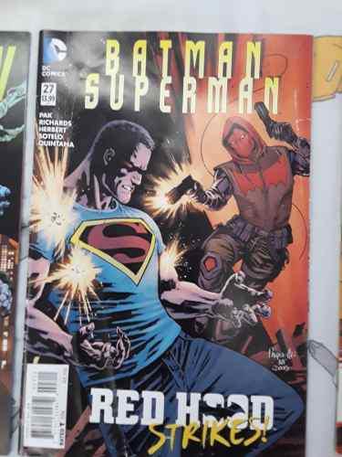Varios comics de marvel y dc
