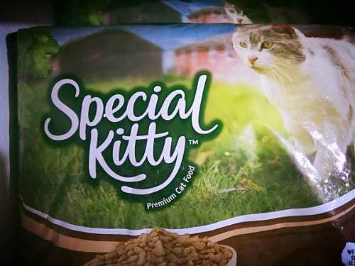 Alimento para gatos; special kitty.