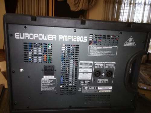 Behringer pmp1280s europower mezclador de audio amplificado