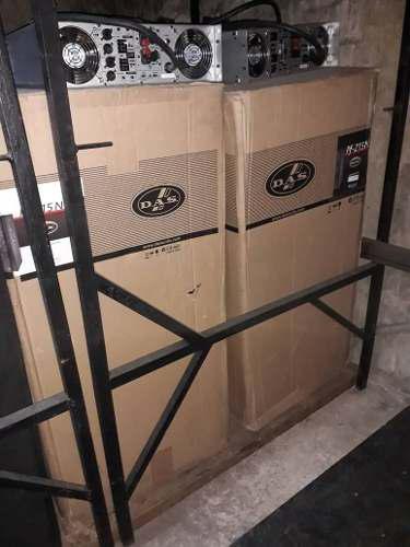 Cornetas das audio / amplificadores american audio