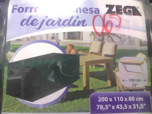 fe1b0b03e51 Forro protector para mesa cuadrada de jardin zega