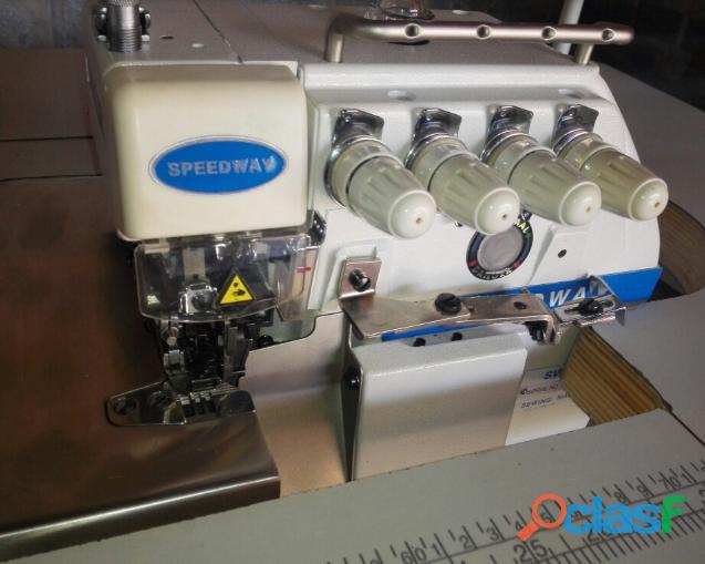 Máquina coser overlock industrial speedway