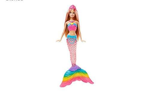 Barbie dreamtopia sirena con luz original mattel