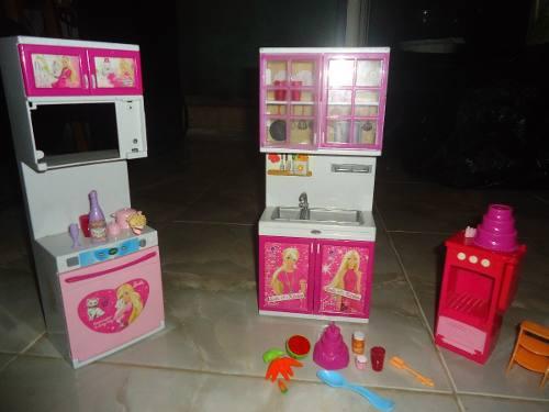Cocina de barbie juguete niña no lea la descripcion
