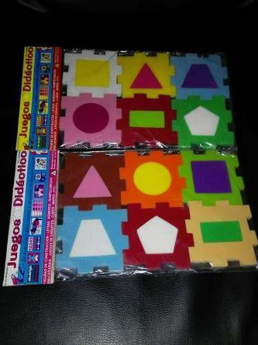 Juego didáctico, cubos desarmables figura geometrica