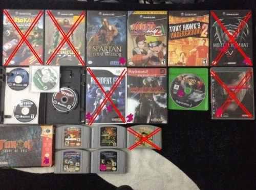 Juegos n64/gamecube/ps2/wii *por favor lea descripción*