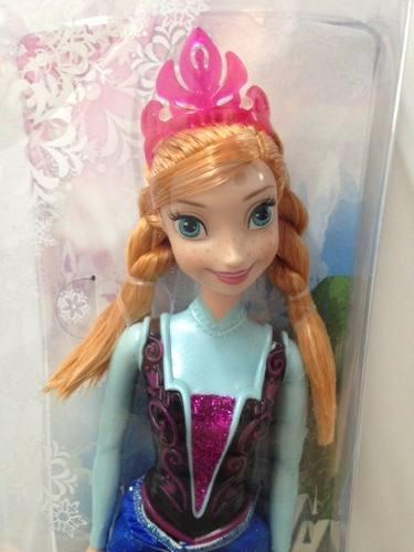 Muñeca frozen de disney 30 cm original mattel serie 2014