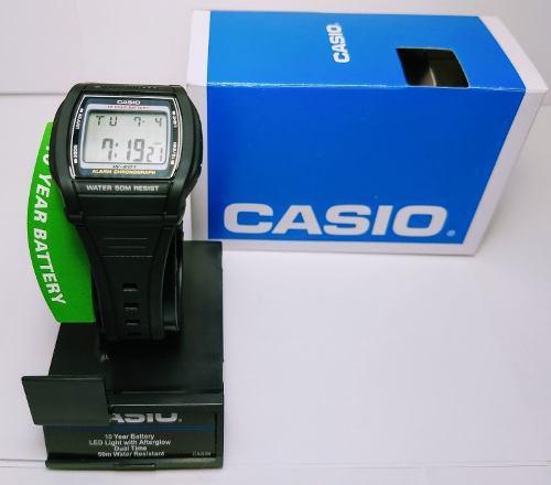3c771db09fb8 Reloj casio original deportivo 10 años bateria water resist