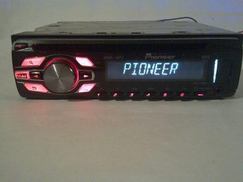 Reproductor pioneer 2450ub de usb, auxiliar y cd mp3