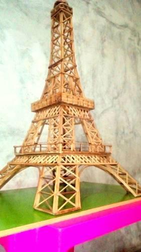 Torre eiffel en madera y mdf