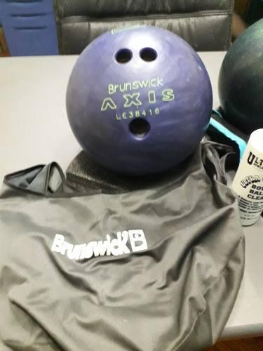 Bolas bowling brunswick + accesorios