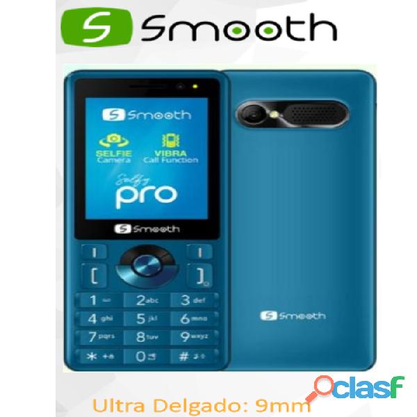 Teléfono celular nuevo económico smooth selfy pro