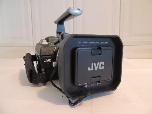 Camara de video profesional jvc gr-hd1u minidv hd y accesori
