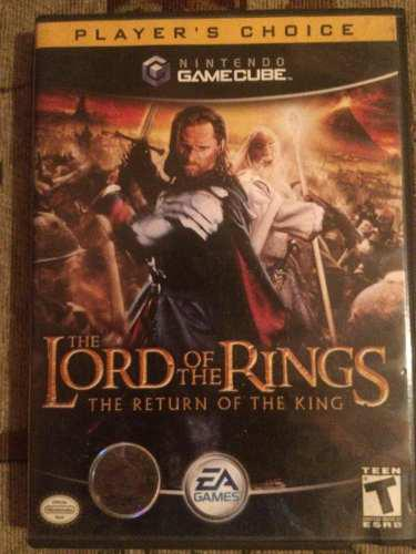 Juego para game cube the lord of the rings the return of kin