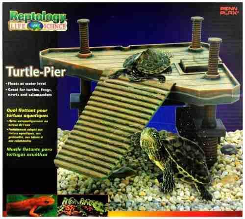 Penn plax plataforma para tortugas, 40x28x40 cms