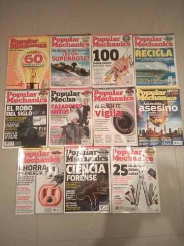 Revistas mecanica popular varios ejemplares