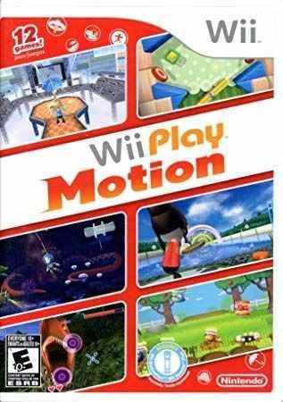 Juego play motion para wii, original con caja y manual