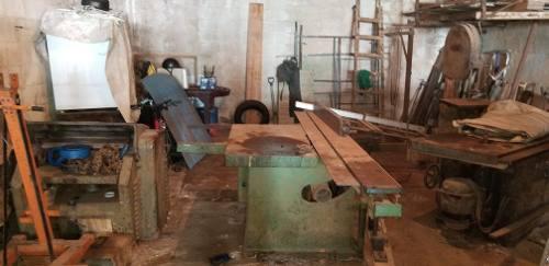 Maquinarias de carpintería profesional 5 en total en combo