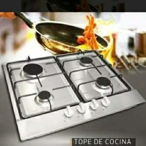 Oferta tope de cocina síragon tg-3060 4 hornillas a gas