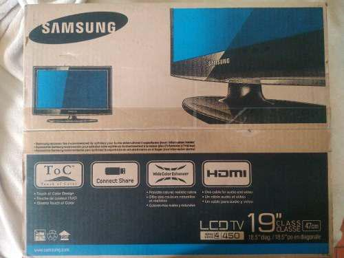 Samsung lcd tv 19 modelo ln19d450g1d