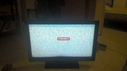 Tv daewoo dc 32 pulg lcd con detalles de pantalla