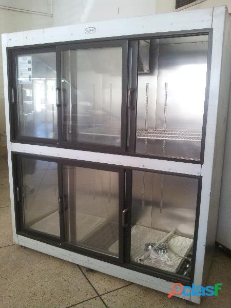 Enfriador vertical nevera 6 puertas refristar
