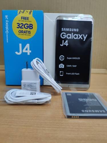 Samsung galaxy j4 de 32gb / microsd 32 gb / nuevo / garantia