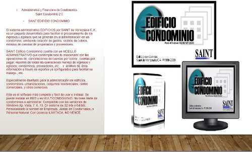 Sistema de administración de condominios saint 2.0