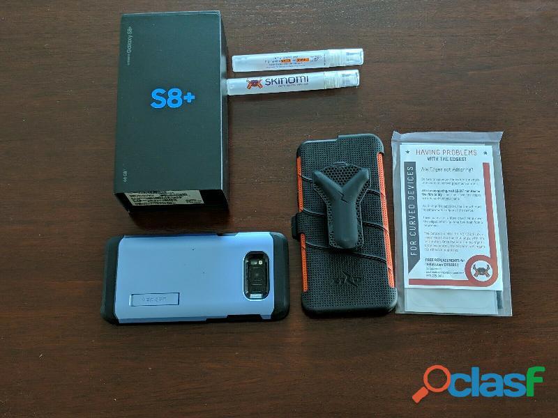 Samsung s8+ liberado (no acepto cambios)