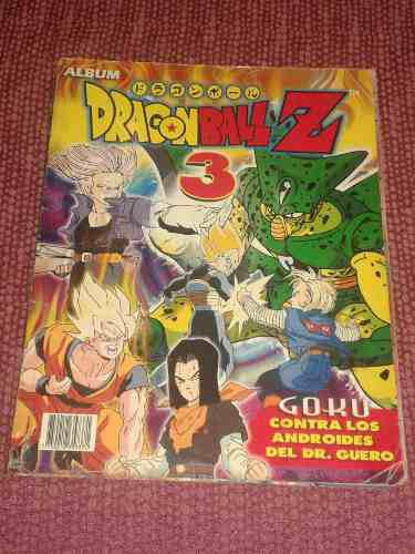 Album dragon ball z 3 navarrete